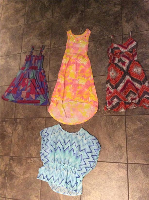 Girls Summer Dresses & Shirt