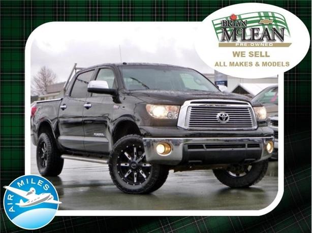 2010 Toyota Tundra Platinum 4x4 Bluetooth Heated & Cooled Seats