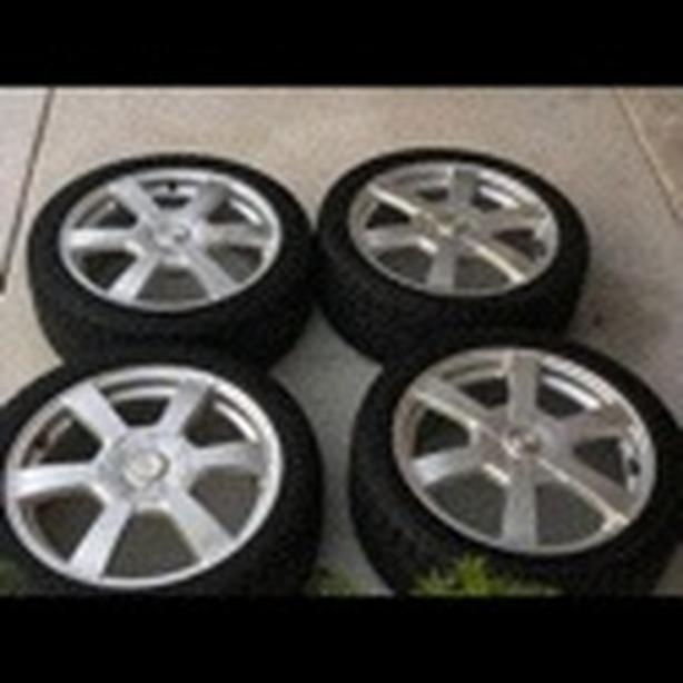 Michelin 4 winter tires plus free 4 alloy rims West Shore