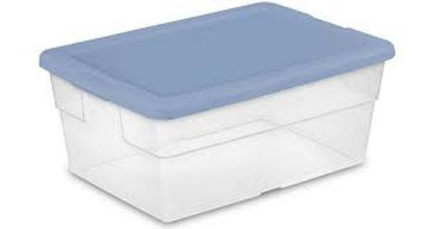 WANTED: Plastic bins (Containers) for short time storage