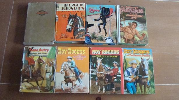 Set of Old Children's Books