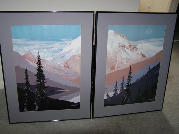 Ken Prescott Framed Art