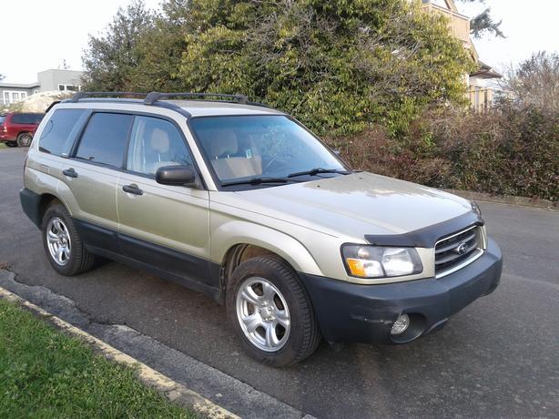 2004 Subaru Forester 5dr Wgn X - Call @250-384-4881