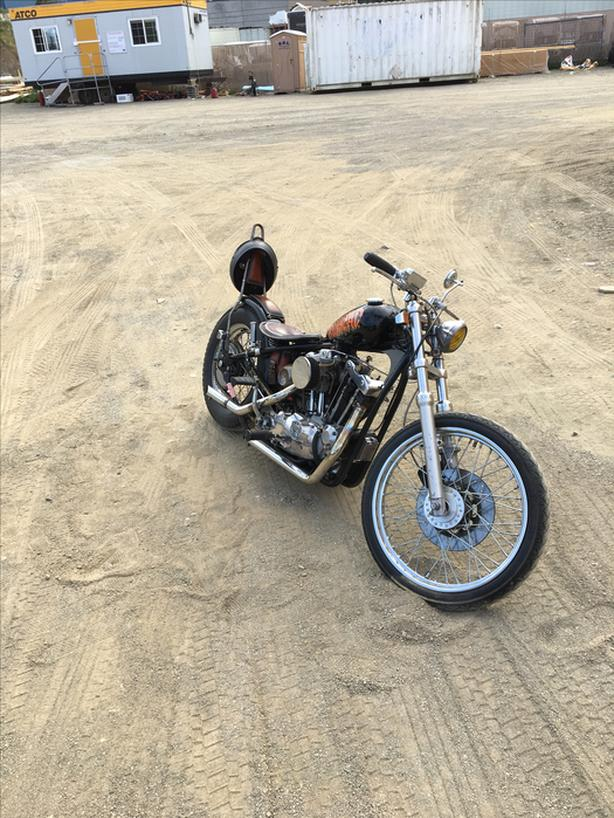 79 Harley Ironhead 1000cc