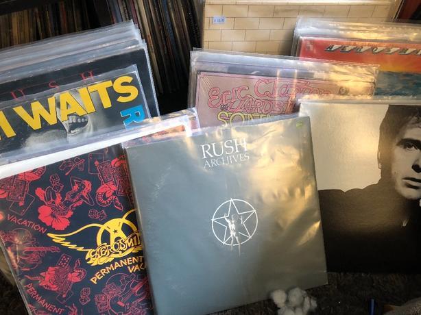 FOR TRADE: vinyl records