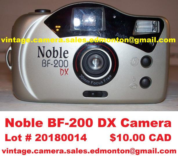 Noble BF-200 DX Camera