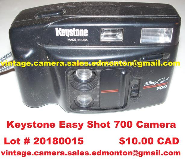 Keystone Easy Shot 700 Camera