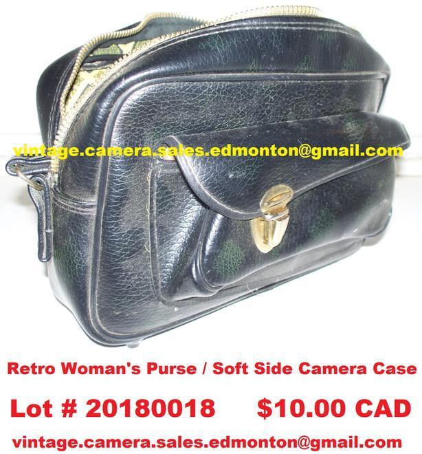 Retro Woman's Purse – Soft Side Camera Case