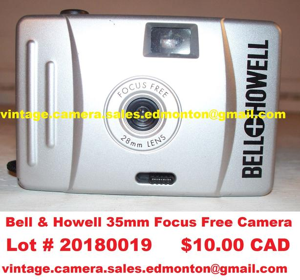 Bell & Howell 35mm Focus Free Camera