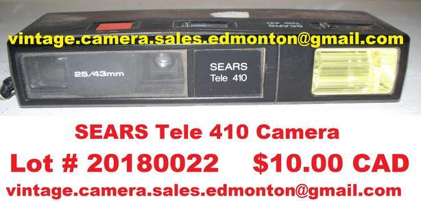 Sears Tele 410 Camera