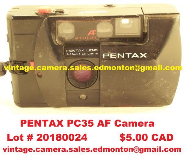 Pentax PC35 AF Camera