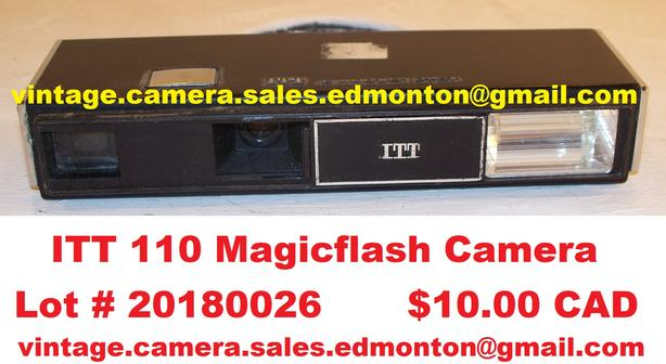 ITT 110 Magicflash Camera