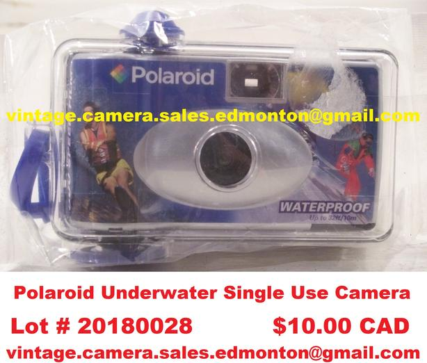 Polaroid Underwater Single Use Camera
