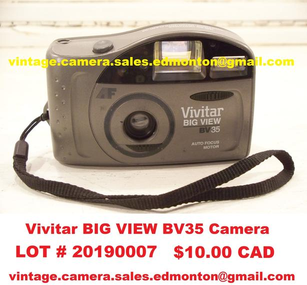 Vivitar BIG VIEW BV35 Camera