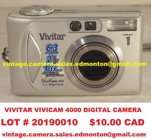 Vivitar ViviCam 4000 Digital Camera