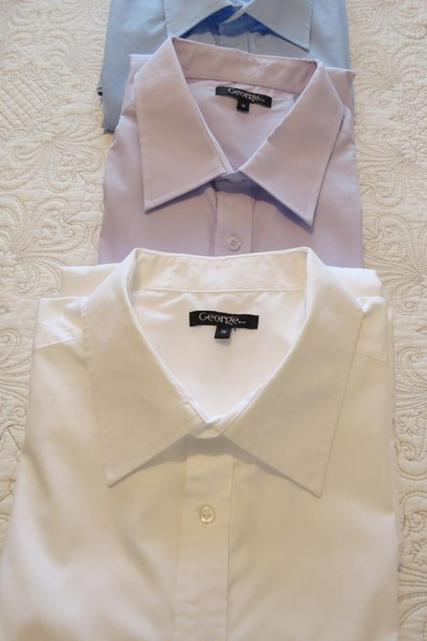 3 Men's Dress Shirts, Size 18 - take all 3 for $10