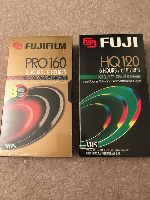 FUJIFILM PRO160 & HQ120 Multi-Purpose Videotape