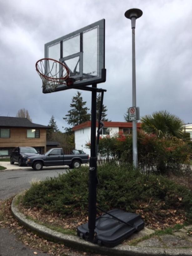  Log In needed $220 · Full height adjustable basketball hoop