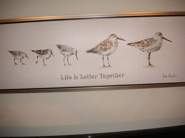 REDUCED/ SANDPIPERS/  LIFE IS BETTER TOGETHER