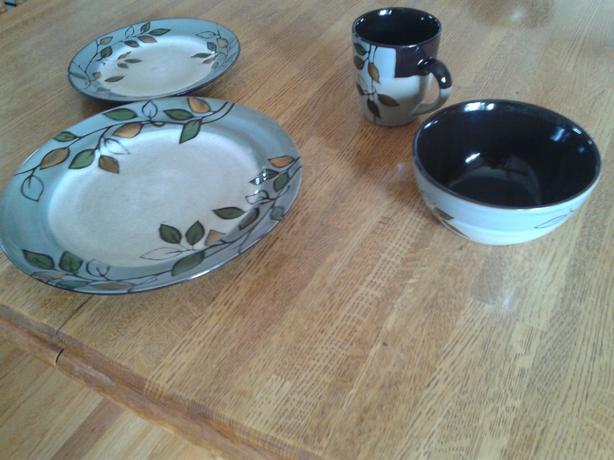 Mikasa stoneware dishes