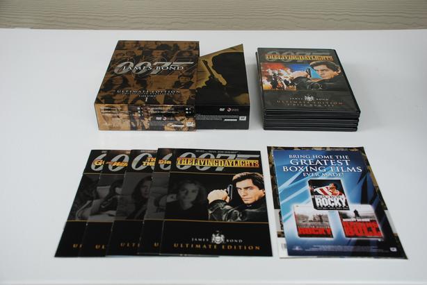 James Bond 007 Ultimate Collection DVDs - Vol 1 & 2