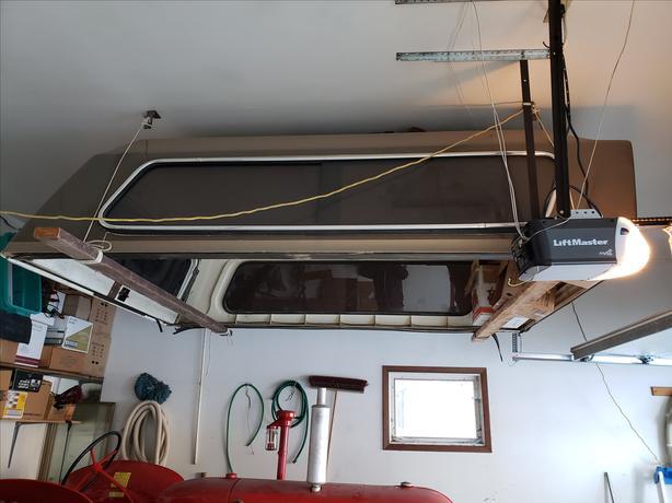 8 foot truck topper