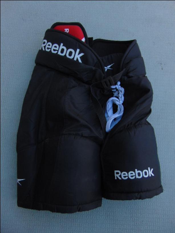 4b63cb05805 Hockey Pants Child Size Junior Medium Adidas 14k Black Red Victoria ...