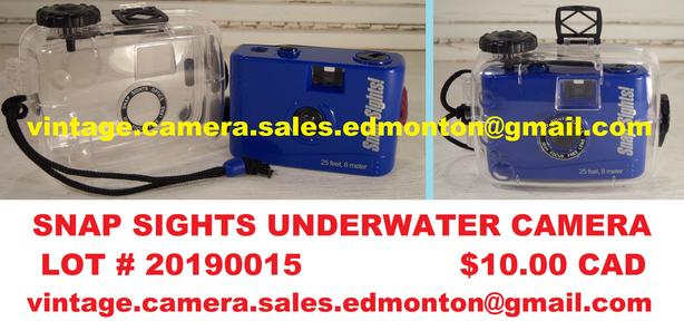 Snap Sights Underwater Camera