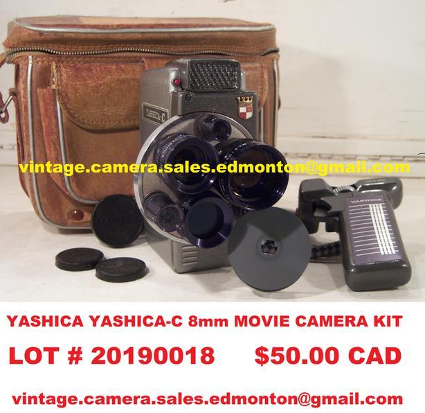 Yashica Yashica-C 8mm Movie Camera Kit