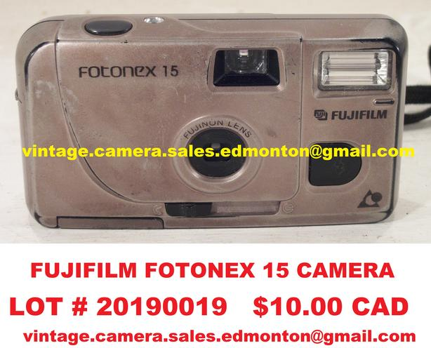 Fujifilm Fotonex 15 Camera