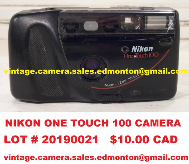 Nikon One Touch 100 Camera