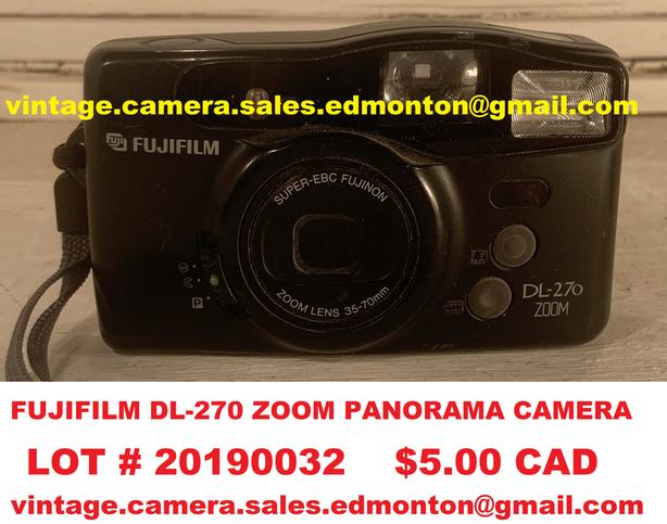 Fujifilm DL-270 Zoom Panorama Camera