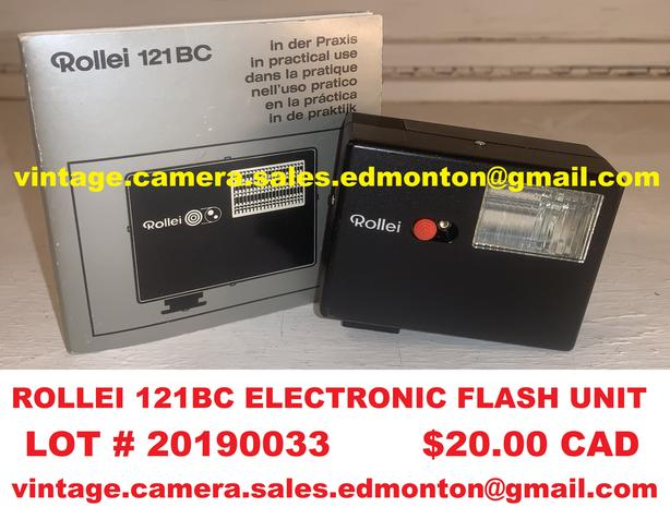 Rollei 121BC Electronic Flash Unit