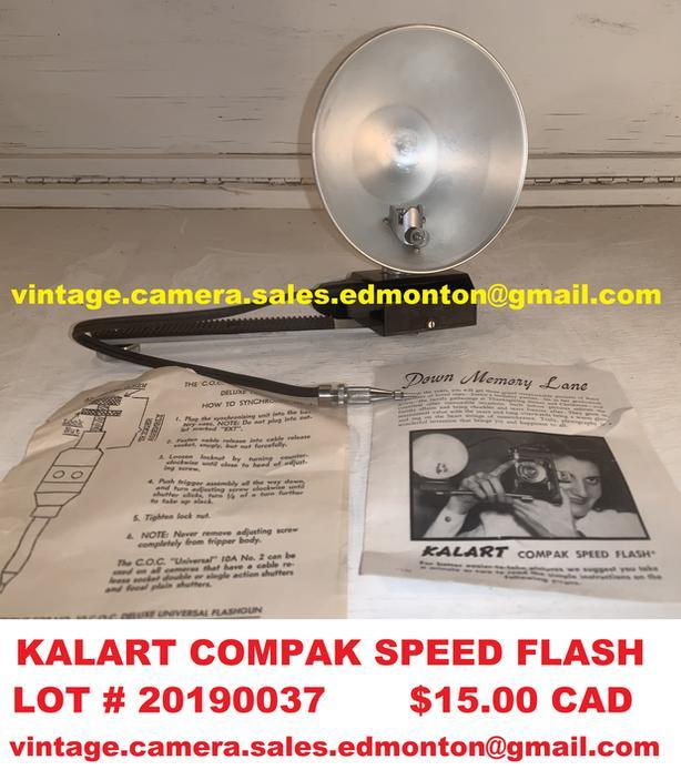 Kalart Compak Speed Flash
