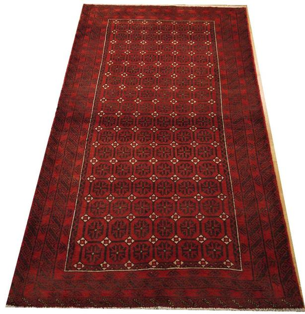 Hamadan Hand-Knotted/Handmade Persian Rug/Carpet Tribal/Nomadic Authentic