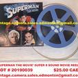 'Superman The Movie' Super 8 Sound Movie Reel Photoplay