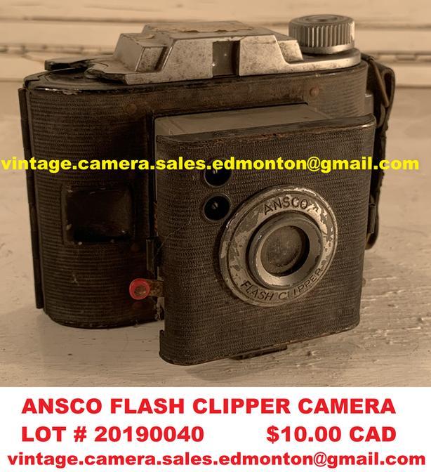 Ansco Flash Clipper Camera