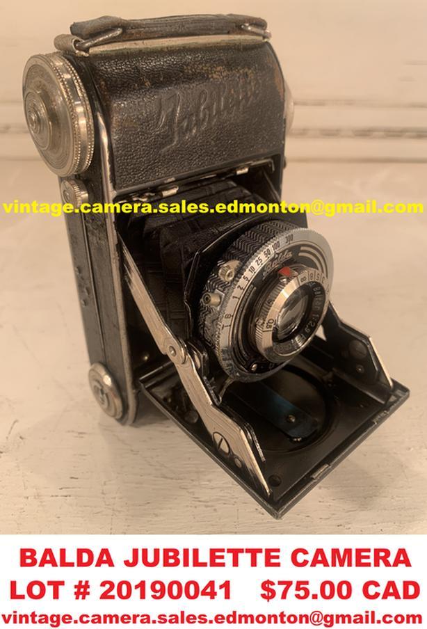 Balda Jubilette Camera