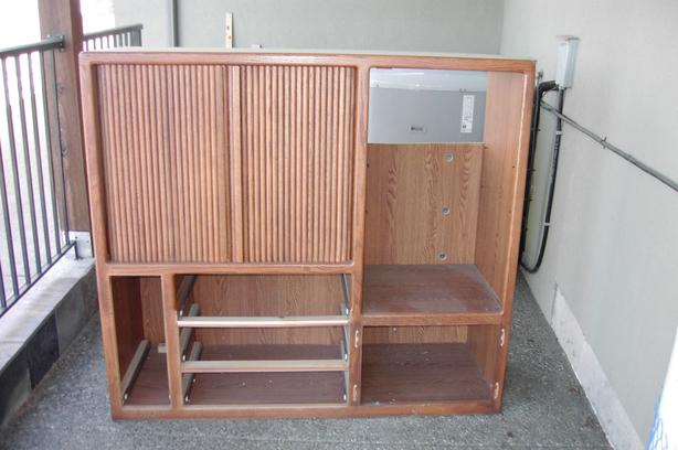 tv stereo entertainment center