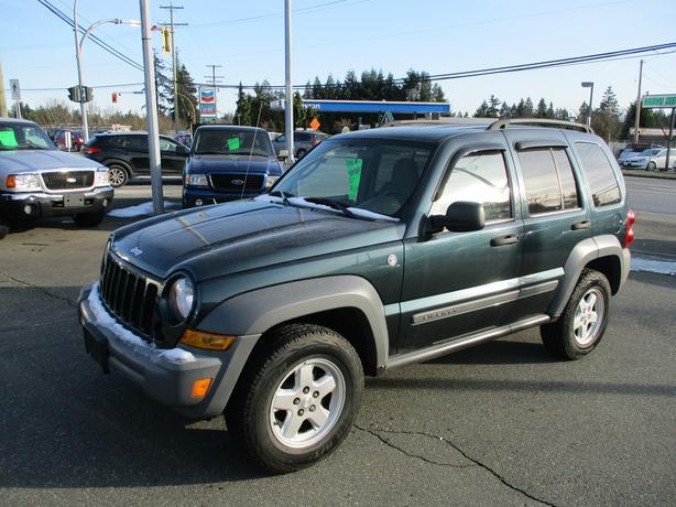 2006 jeep liberty 4x4 -136 kms