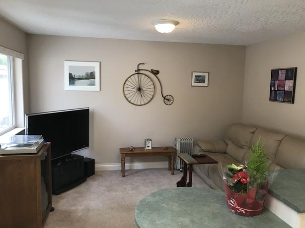 One Bedroom Suite in Cordova Bay