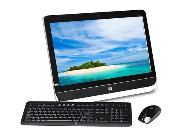 23'' HP TOUCHSCREEN ALL iN One DESKTOP w/WIN10 FOR LESS!