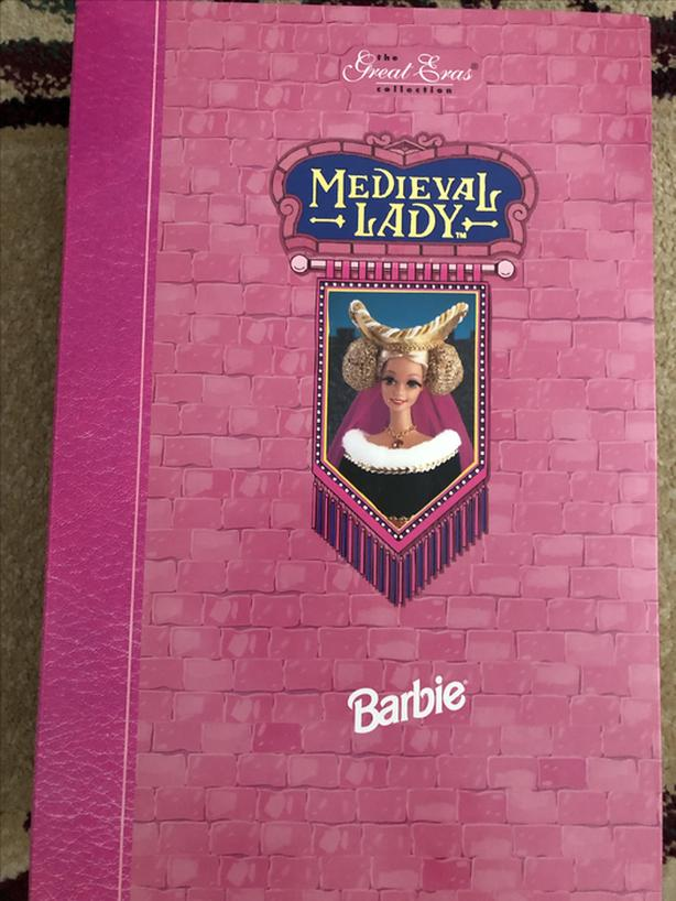 1994 Medievel Lady Great Eras Collection Barbie