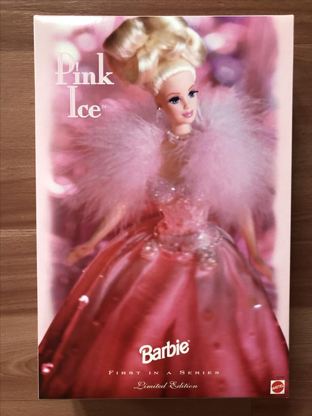1996 Pink Ice Barbie Limited Edition