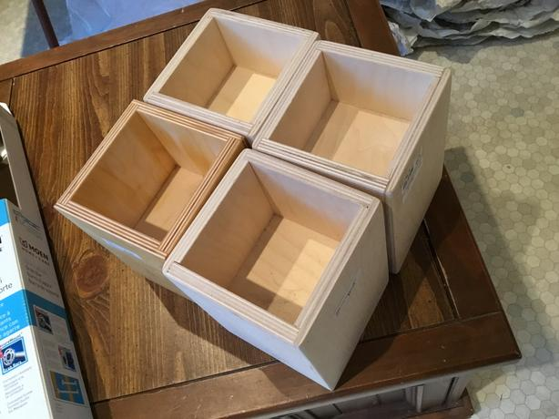 Four Furniture Risers