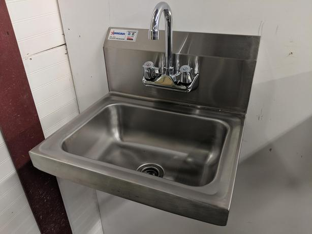 Hand Sinks & Replacement Faucets – Feb 17 Auction