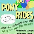 Family Day Pony Rides