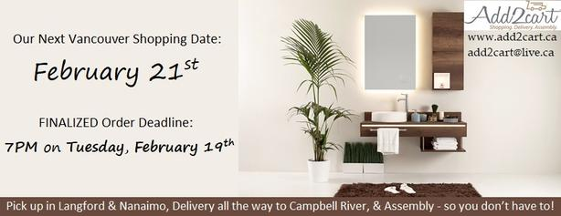 Add2cart.ca Victoria | We deliver IKEA |February 21st