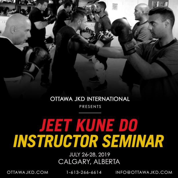 Jeet Kune Do Instructor Course - Calgary, Alberta