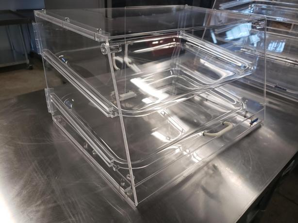 2, 3 and 4 Trays Acrylic Display Cases – New In Box